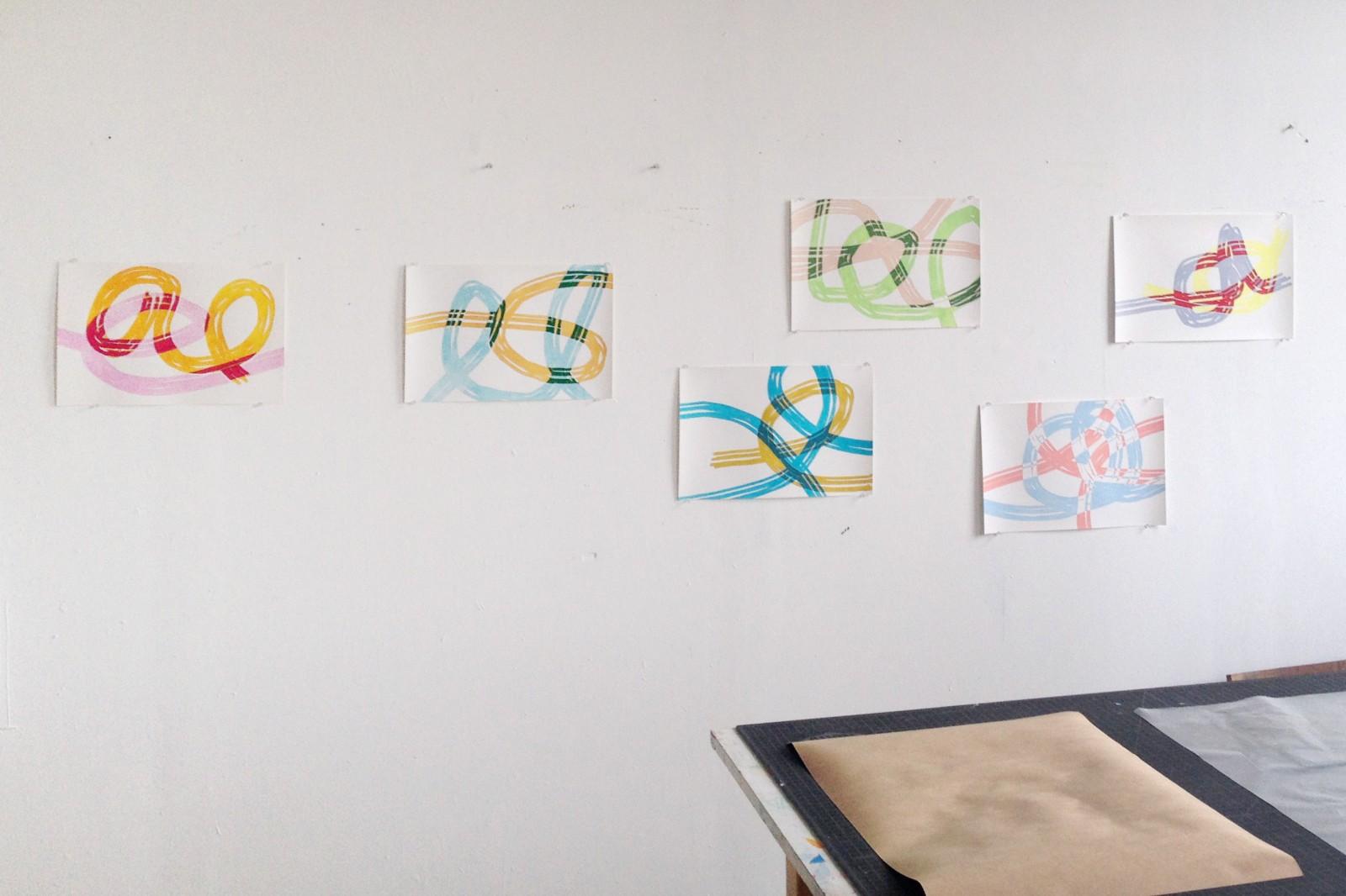 Eric Iversen's studio